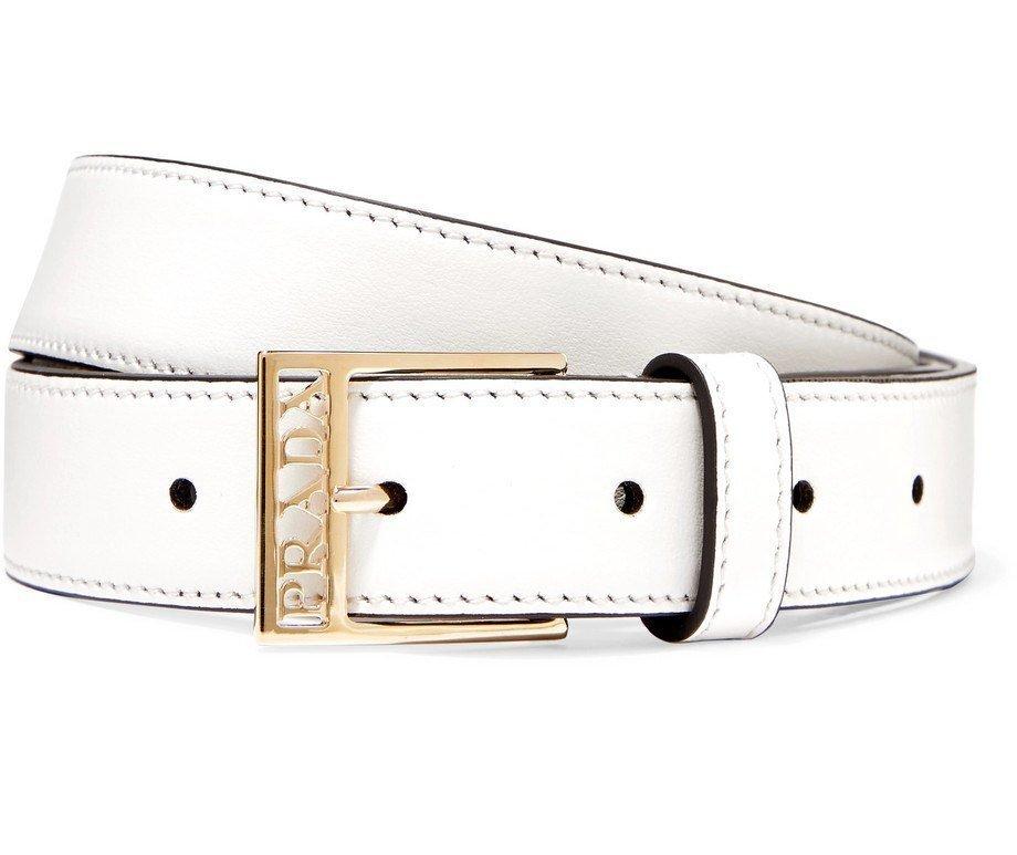 Cintura Prada bianca