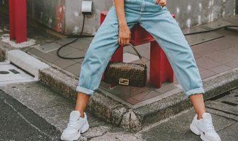 Foto di jeans slouchy di Zara