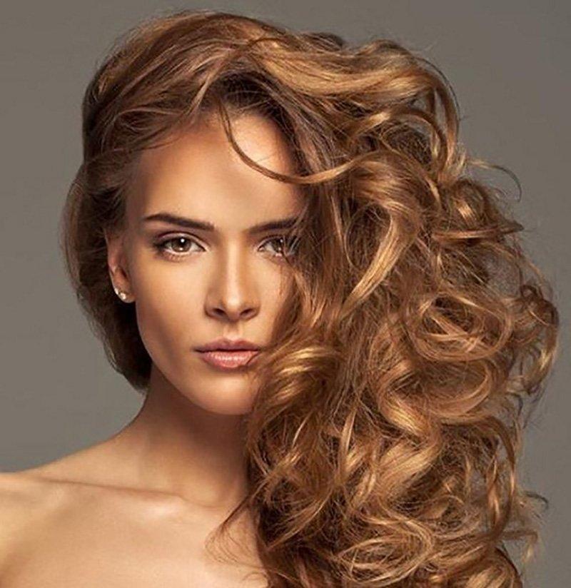 Foto di capelli castani