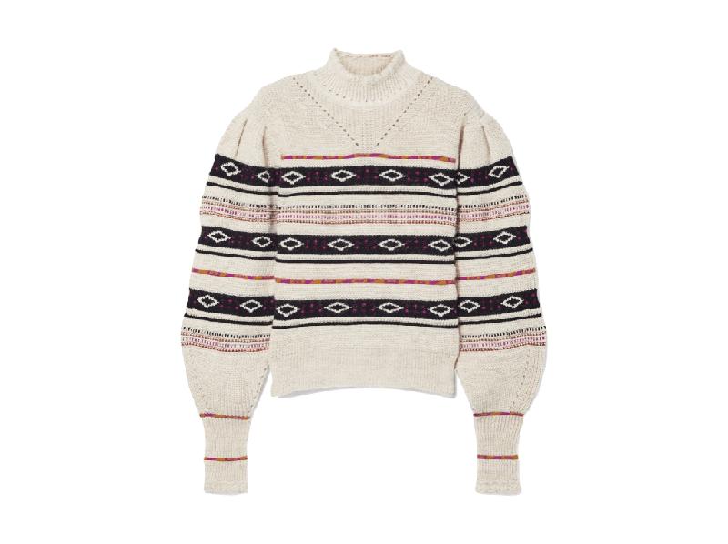Foto del maglione natalizio di Isabel marant