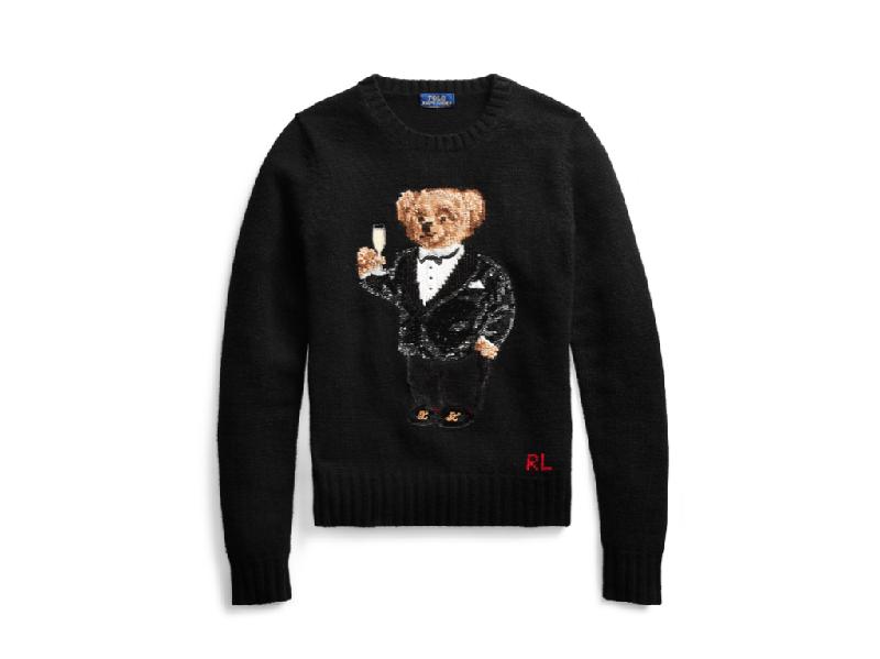Foto del maglione natalizio di Ralph Lauren