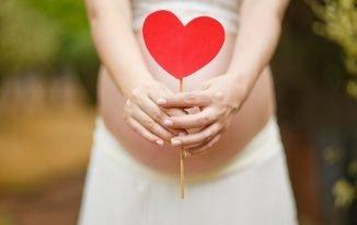 Foto di donna incinta
