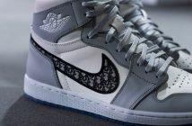Foto di sneakers Dior e Nike