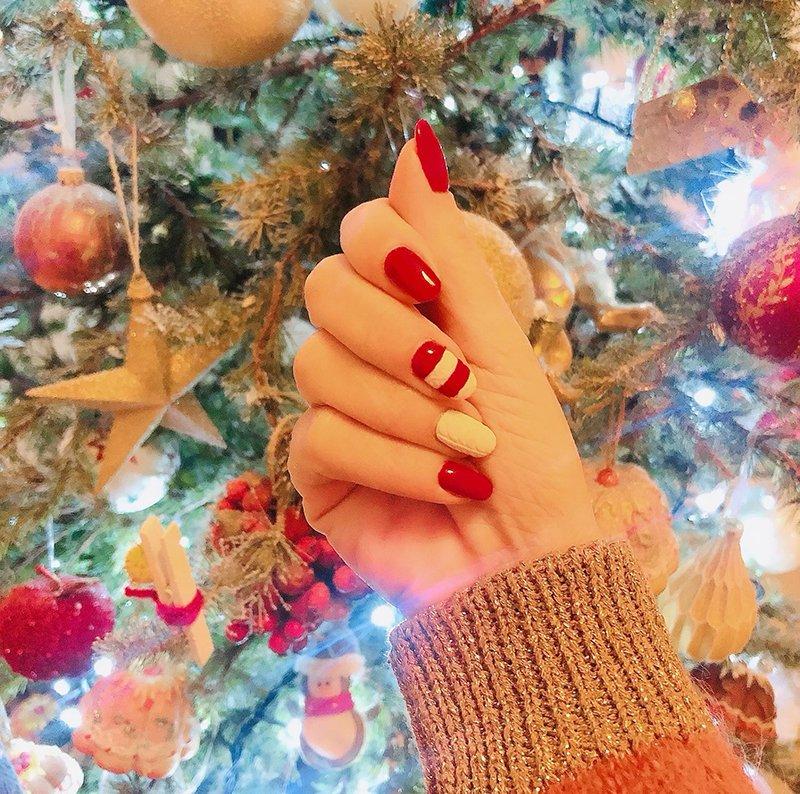 Foto di unghie Natale 2019
