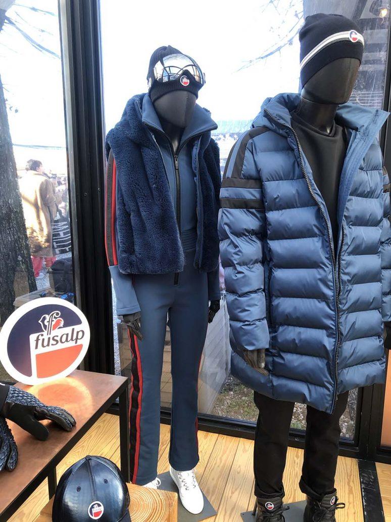 Foto di abbigliamento montagna 2021 Fusalp