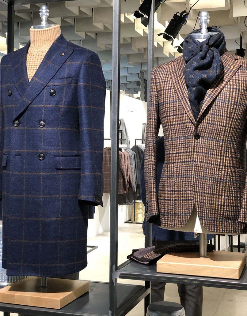 Foto di completi british della moda uomo autunno inverno 2020-2021