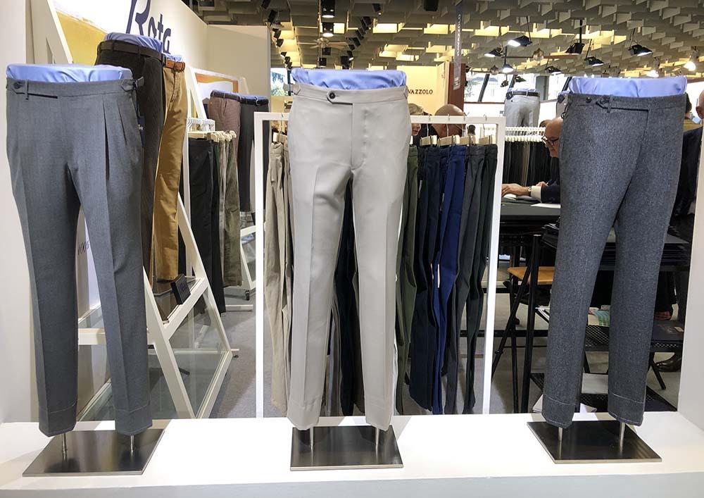Foto di pantaloni maschili autunno inverno 2020-2021