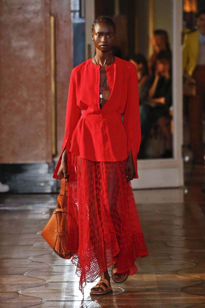 Foto di abito rosso
