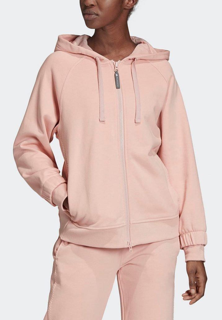 Foto di abbigliamento sportivo fashion felpa rosa