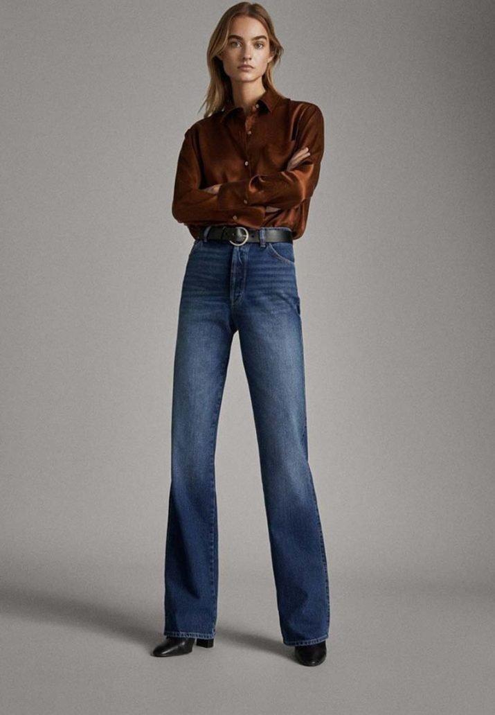 foto del Jeans a vita alta di Massimo Dutti