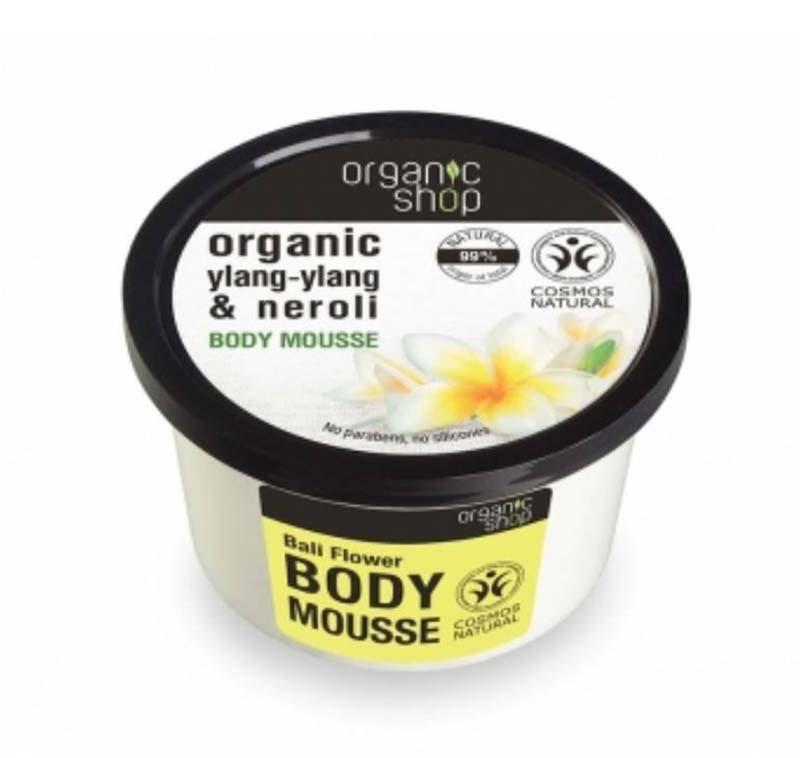 Foto della crema corpo Organic Shop