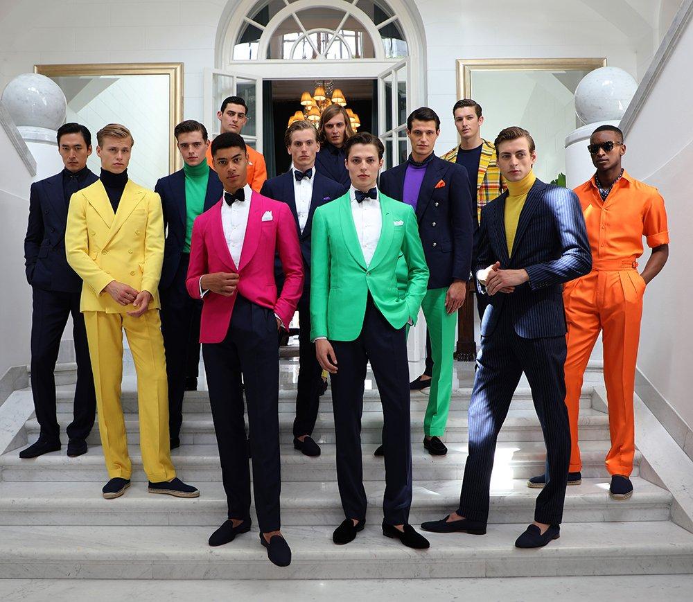 Foto della moda uomo primavera estate 2020