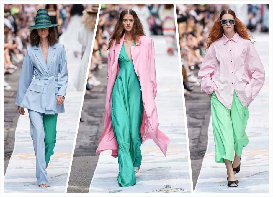 Foto di colori primavera estate 2020