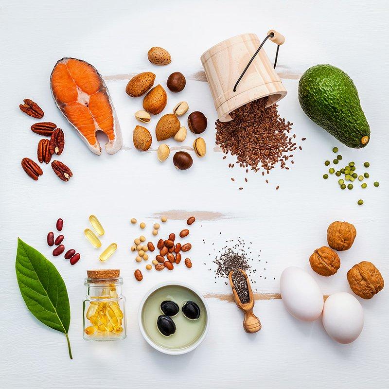 Foto di integratori alimentari