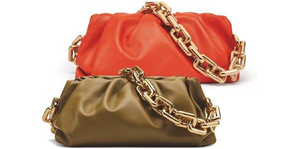 Foto di borsa originale Chain Pouch di Bottega Veneta