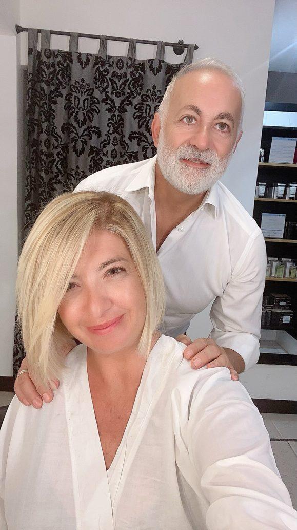 Foto del taglio capelli di Michele Spanò