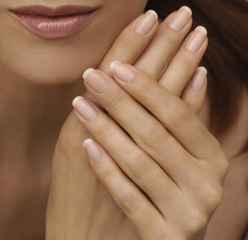 Foto di trattamento alla cheratina unghie