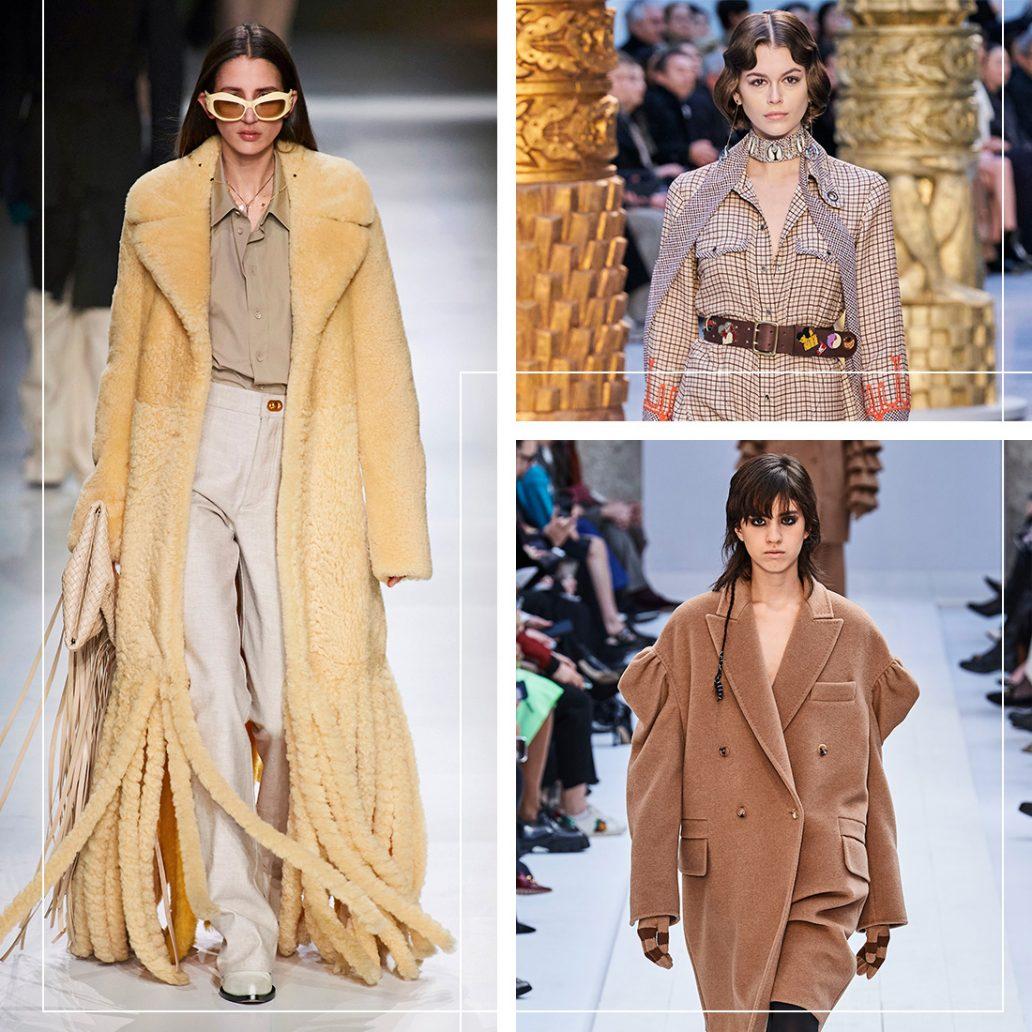 Il beige tra i colori moda dell'autunno inverno 2020-2021