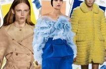 Foto dei colori moda autunno inverno 2020-2021