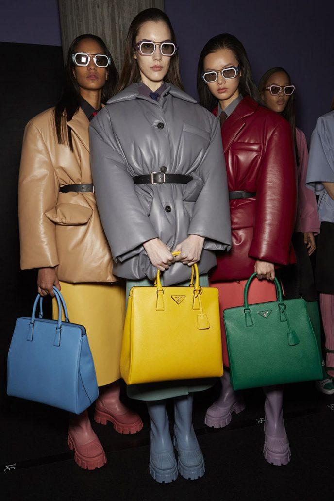 Foto delle borse Prada tra le IT Bag 2021