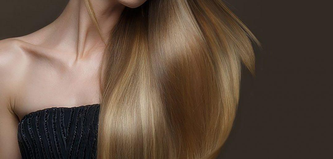 Foto di capelli con trattamento alla cheratina capelli