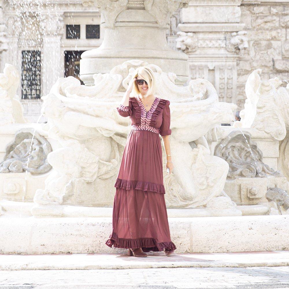 Foto di abito in seta di Luluredgrove