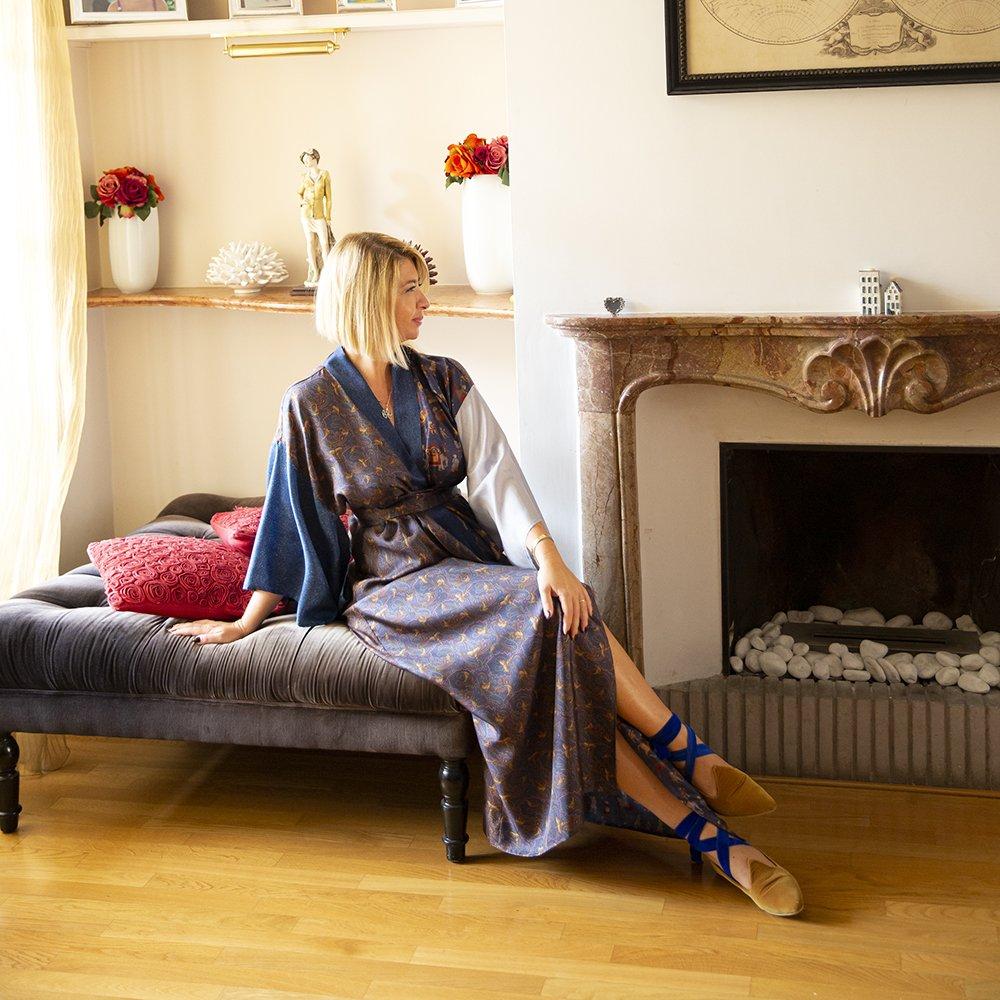 Foto di kimono in seta di Luluredgrove