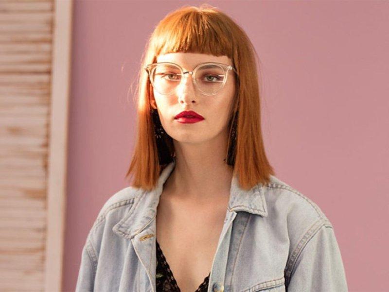 Foto di occhiali da vista squadrati 2021