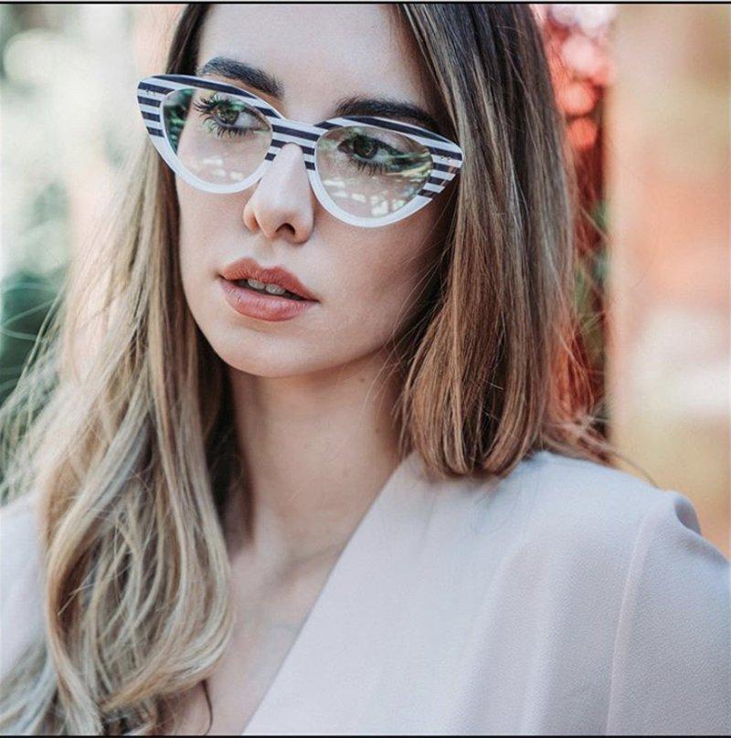 Foto di occhiali da vista 2021 cat eye