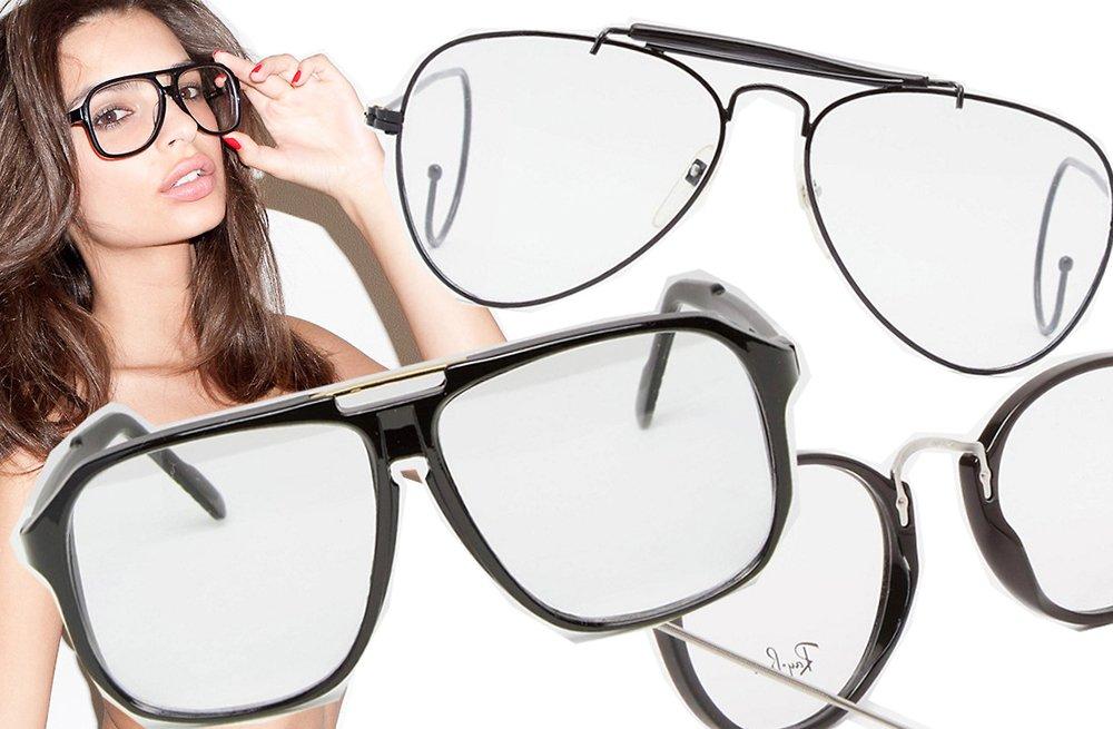 Foto di occhiali da vista 2021 squadrati