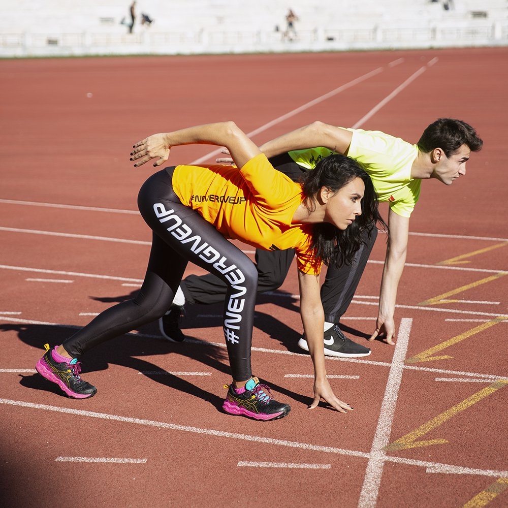 Foto della linea sportiva neverGiveUp di The Goose Club