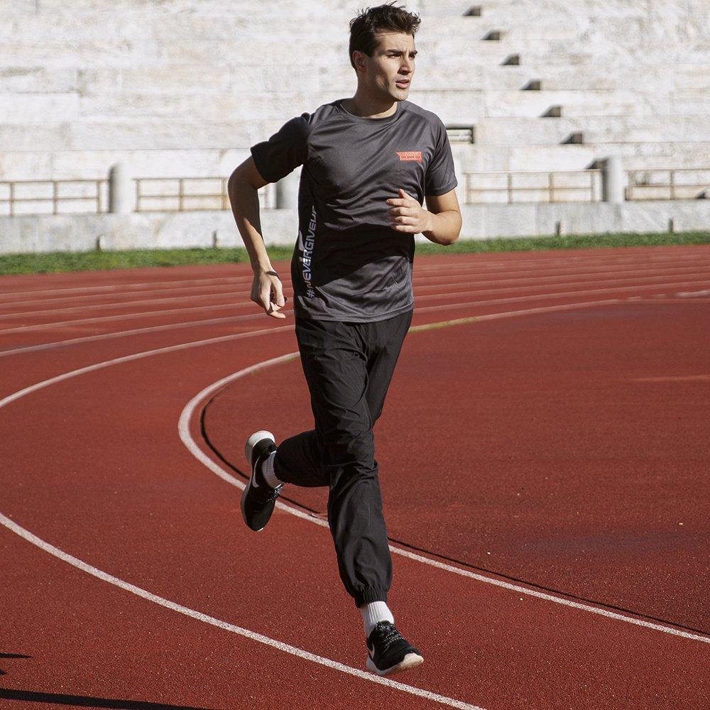 Foto di t-shirt running per il titness