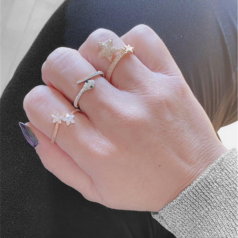 Foto di tris di anelli