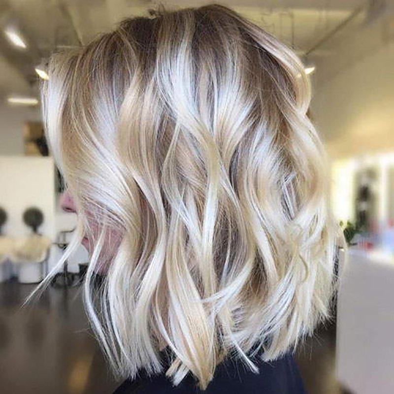 Foto di colore capelli 2021 biondo platino