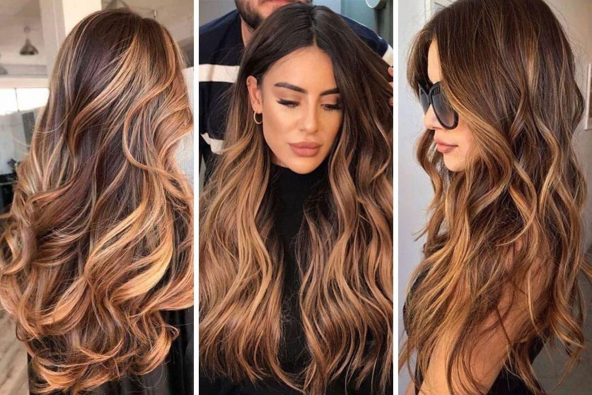 Foto di capelli balayage tra le tendenze colore 2021