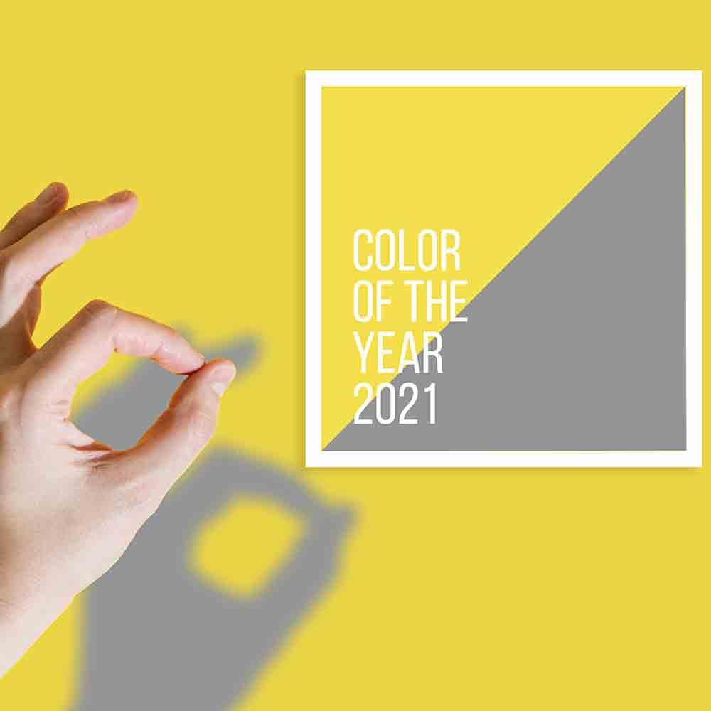 Foto di colori Pantone 2021