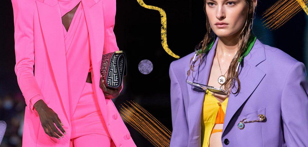 Foto dei colori moda della primavera estate 2021