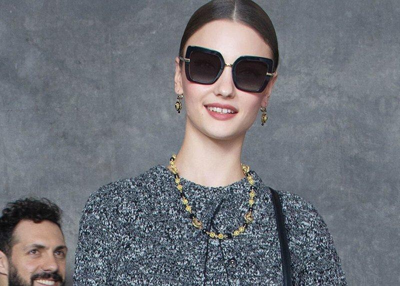 Foto di occhiali da sole estate 2021 Dolce & gabbana