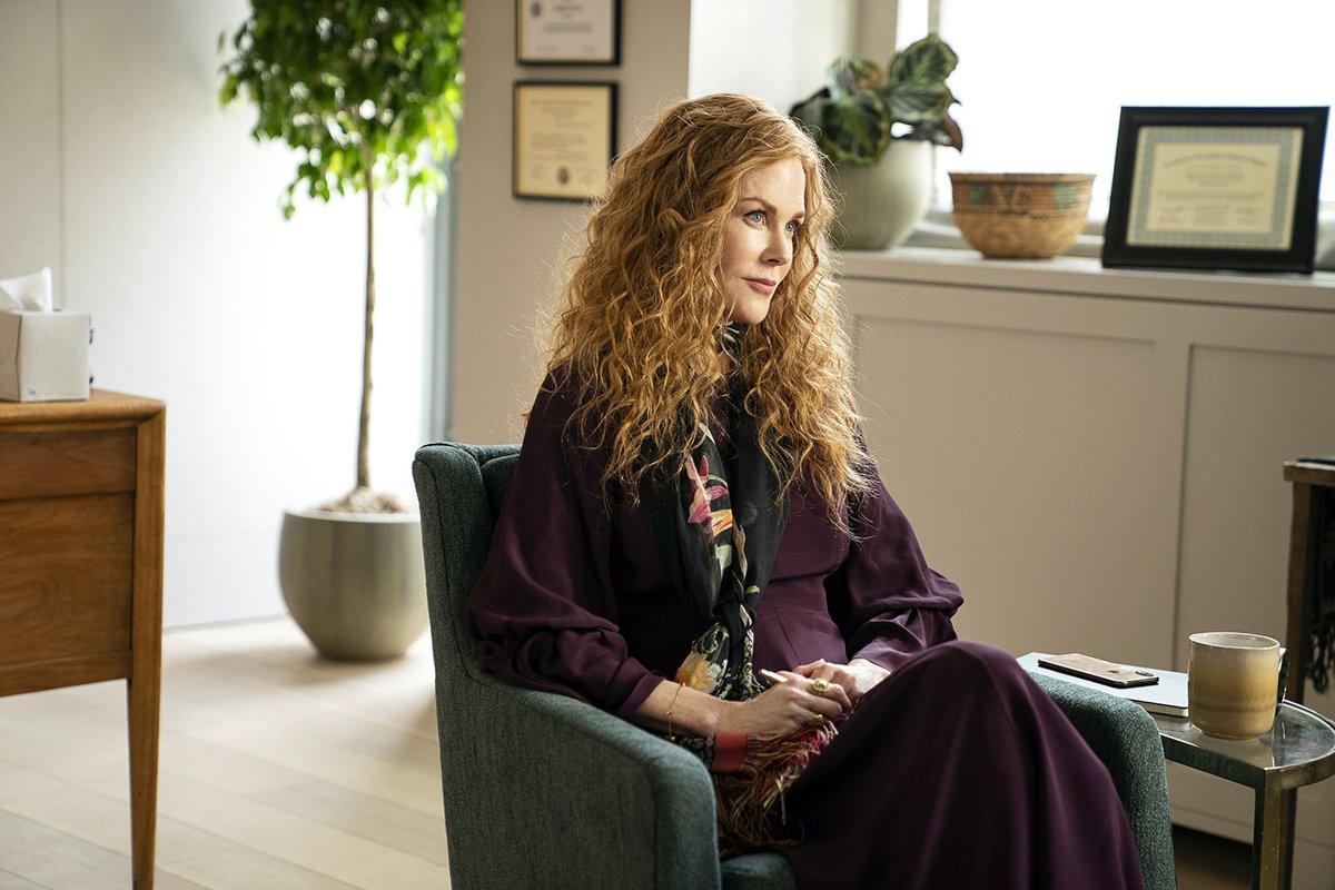 Look Nicole Kidman durante seduta