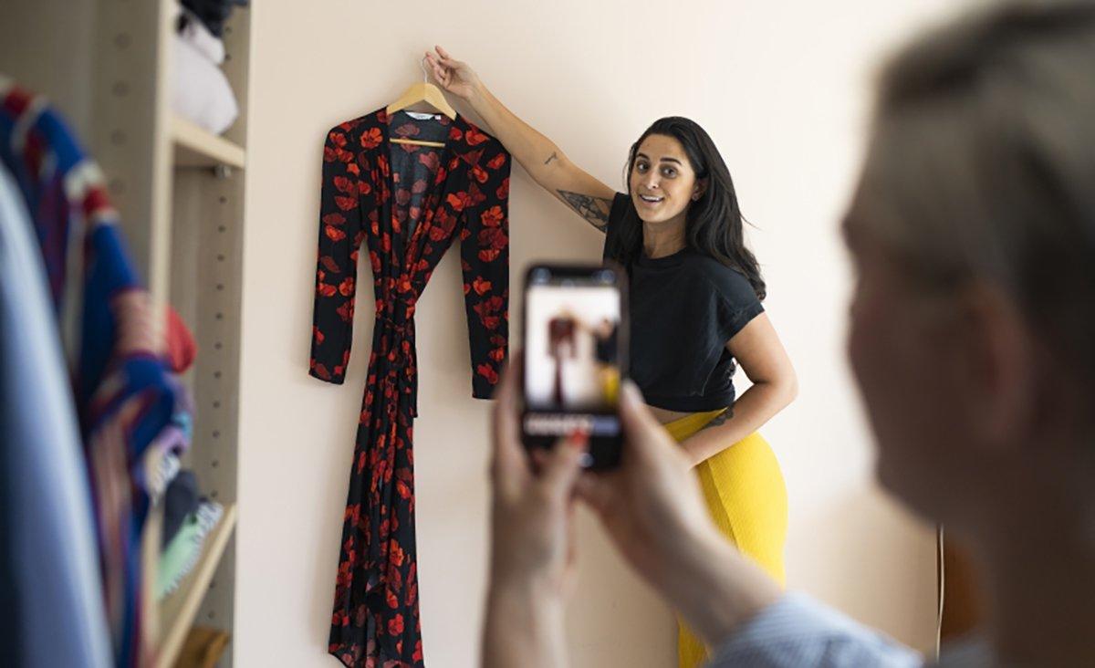 Foto di vendita abiti online