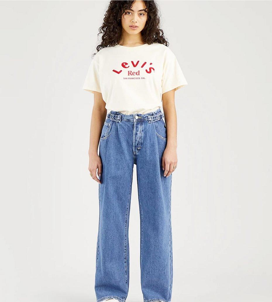 Foto di jeans palazzo Levi's