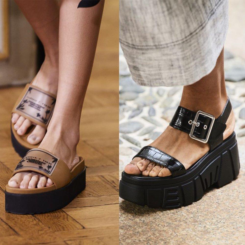 Foto di scarpe della primavera estate 2021