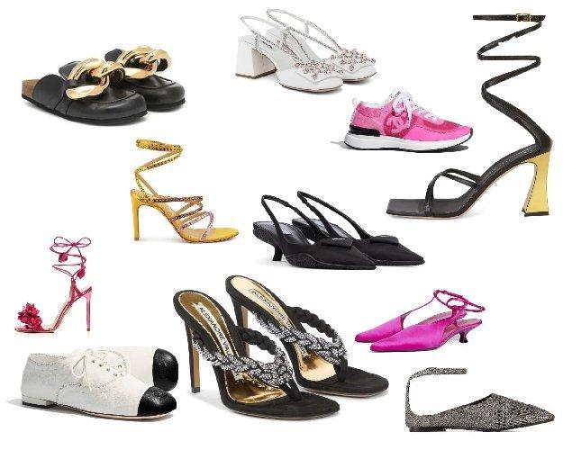 Foto di scarpe primavera estate 2021