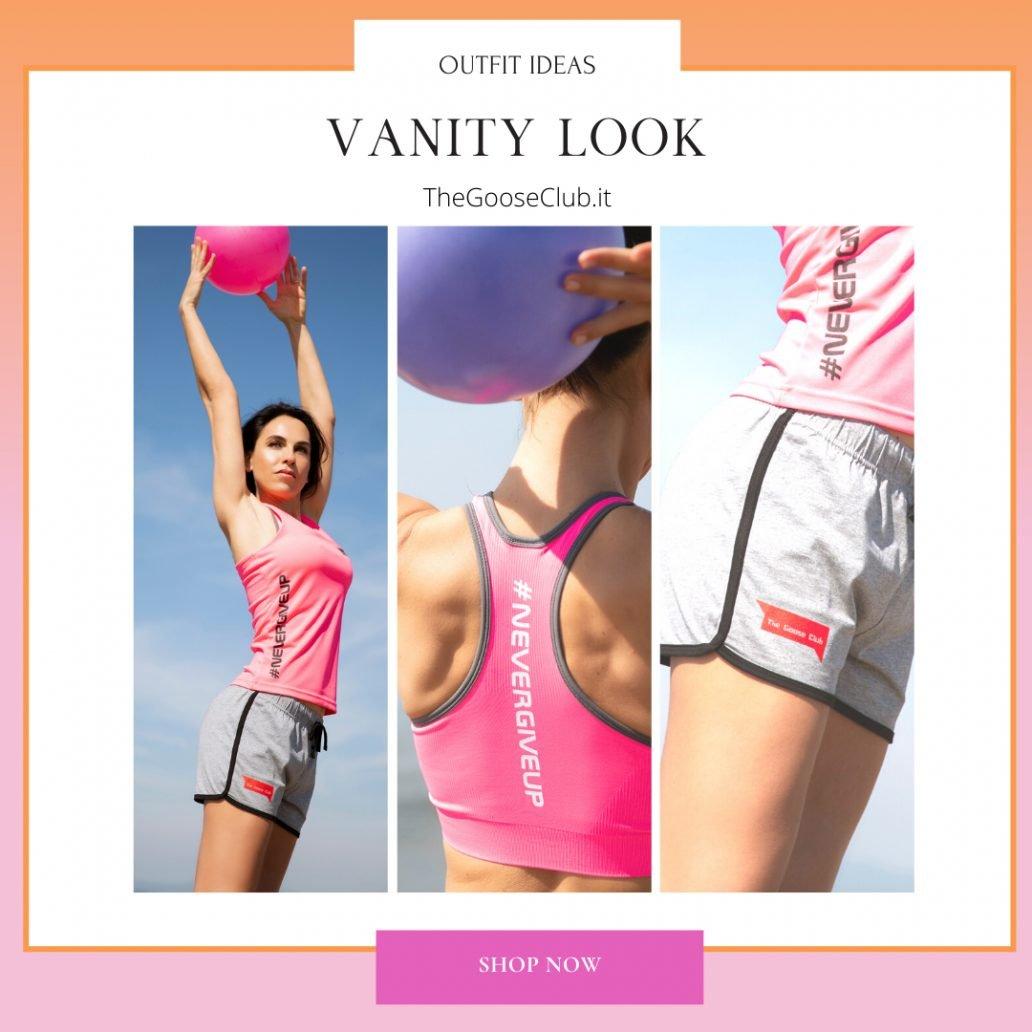 Foto di outfit fitness per la primavera estate 2021