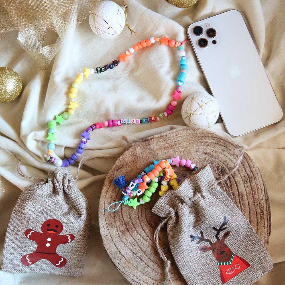 Foto del Phone Beads come pensierino di Natale