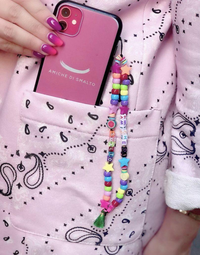 Foto del Phone Beads multicolor