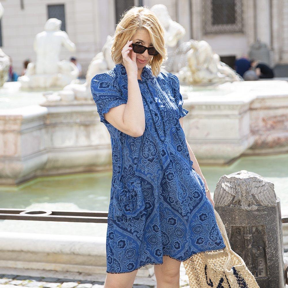 Foto di abito blu Luluredgrove