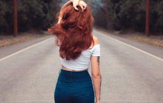 Foto di capelli ramati