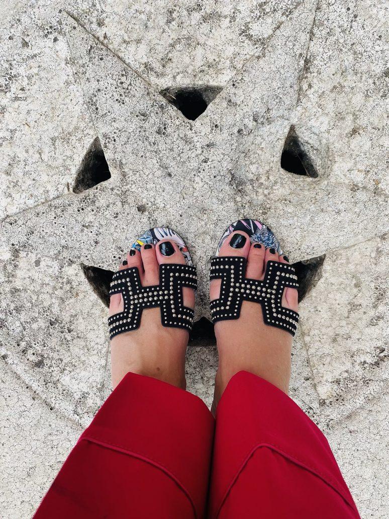 Foto di sandali Oran di Hermes