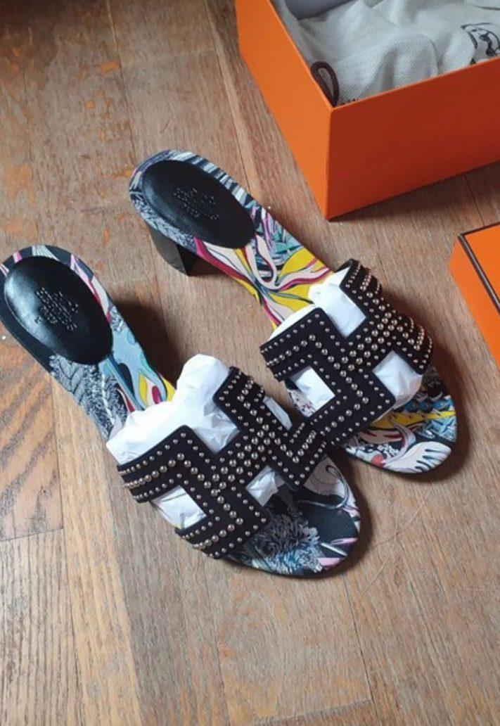 Foto dei sandali Oran di Hermés